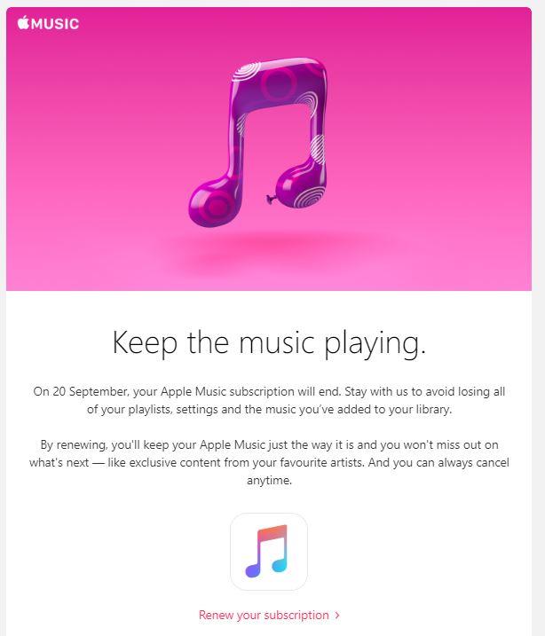 Как отменить подписку на Apple Music Membership