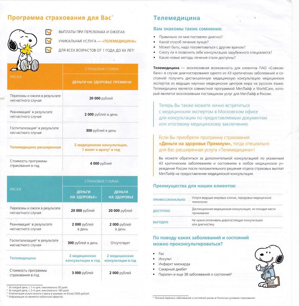 Буклеты Совкомбанка (2016-2017 годы)