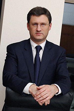 Александр Новак, Газпром