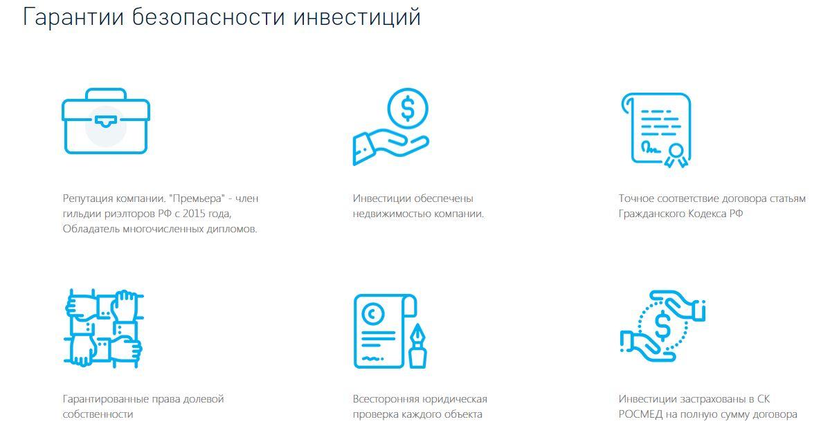 Премьера (homesfin.ru): признаки финансовой пирамиды