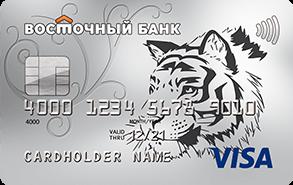 Кредитная карта Восточного банка: не для наличных