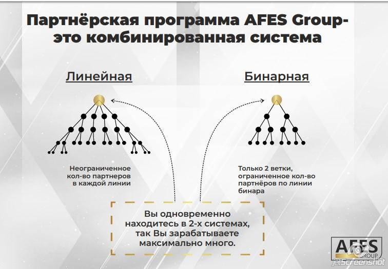 AFES Group: признаки финансовой пирамиды