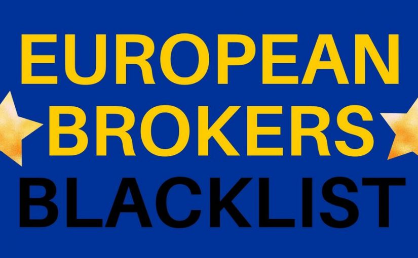 Brokers European Black List (june and july 2021)