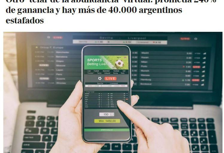 Ganancias Deportivas: «Гафаров и партнёры» по-аргентински