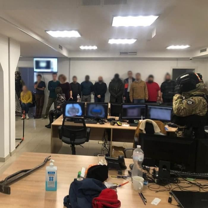 Колл-центры мошенников в Киеве закрывают