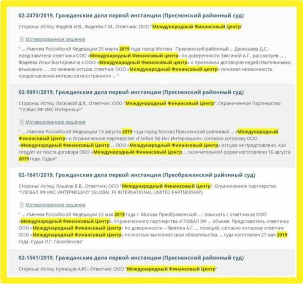 Как судья Юлиан Лебедев защищает МФЦ / GlobalFX