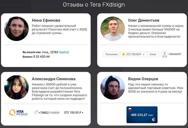 Актёры Данил Визжалов, Александр Бобров помогают мошенникам Tera FXdesign